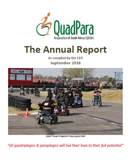 QASA CEO REPORT